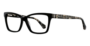 Kenneth Cole New York KC0207 Shiny Black/White Demi