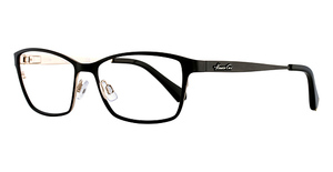 Kenneth Cole New York KC0206 Matte Black/Matte Gold