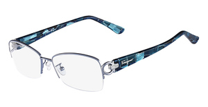 Salvatore Ferragamo SF2104R (414) Shiny Blue