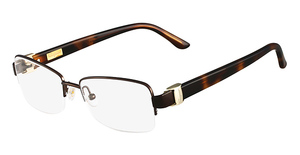 Salvatore Ferragamo SF2112 (210) Shiny Brown