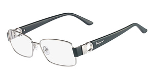 Salvatore Ferragamo SF2124R (035) Shiny Gunmetal