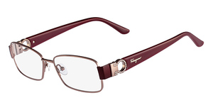 Salvatore Ferragamo SF2124R (213) Shiny Light Brown