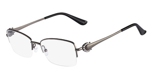 Salvatore Ferragamo SF2132R (015) Shiny Gunmetal