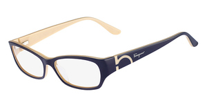 Salvatore Ferragamo SF2642 (464) Blue Ivory