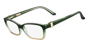 Salvatore Ferragamo SF2649 Forest Green/ Beige