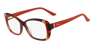 Salvatore Ferragamo SF2682 (216) Striped Brown