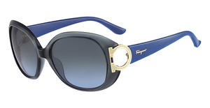 Salvatore Ferragamo SF668S (301) Dark Green Opaline