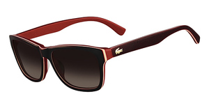 Lacoste L683S Burgundy Red