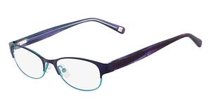 Marchon M-CARNEGIE (513) Purple Aqua Fade