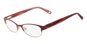 Marchon M-CARNEGIE (601) Crimson Coral Fade
