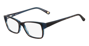 Marchon M-FASHION AVE (215) Tortoise Blue