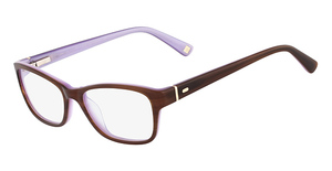 Marchon M-FIT (234) Brown Horn Lavender