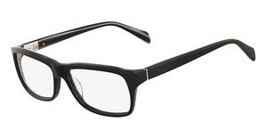 Marchon M-Grove (001) Black Grey Horn