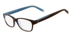 Marchon M-SPRING (214) Havana Brown Blue
