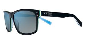 Nike VINTAGE 80 EV0632 (001) Black / Lt Blue/Gry Bl Fl Lens