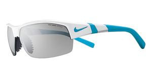 Nike Show X2 EV0620 (144) Shny Wht/Neo Turq/Gry Slvr Fl
