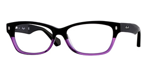 Kenneth Cole New York KC0198 Black to Purple