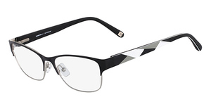 Marchon M-CARLYLE (001) Black Silver