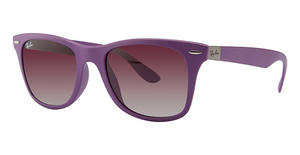 Ray Ban RB4195F Metallic Violet