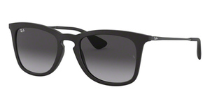 Ray Ban RB4221 Rubber Black w/ Grey Gradient Lenses