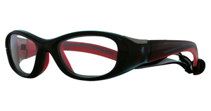 Bolle Coverage 48 Small Black and Red