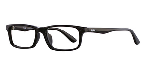 Ray Ban Glasses RX5277F Asian Fit Black