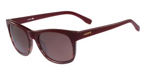 Lacoste L779S (604) Burgundy/Striped