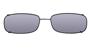 Hilco Glide-Fit Low Rectangle Sunglasses
