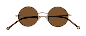 PiWear 2PiR Suns Shiny Gold with Brown Lenses