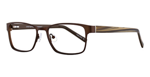 London Fog Mens Bradley Eyeglasses