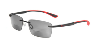 Tumi Richmond Black +2.00 Eyeglasses