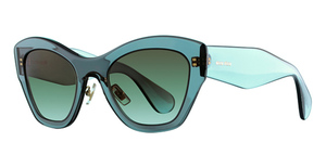 Miu Miu MU 11PS Transparent Grey