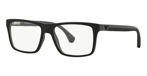 Emporio Armani EA3034 Black/Rubber Grey