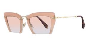 Miu Miu MU 10QS Sand Pearl Pink