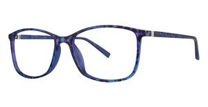 Modern Art A373 Blue Tortoise
