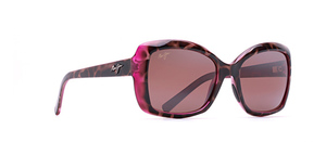 Maui Jim Orchid 735 Tortoise with Raspberry