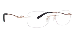 Totally Rimless TR 240 Diamante Eyeglasses