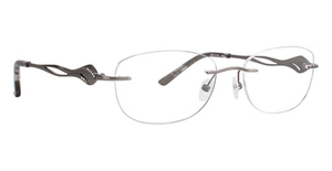 Totally Rimless TR 242 Pave Eyeglasses