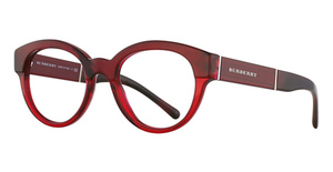 Burberry BE2209 Top Red Horn/Bordeaux