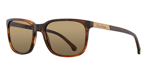 Brooks Brothers BB5026S Brown Horn/Lt Brown