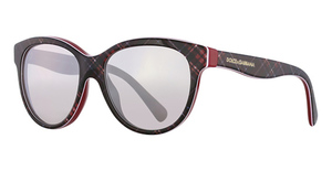 Dolce & Gabbana DG4176 Check Red/Blue/Red