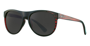 Maui Jim Rising Sun 731 Burgundy Stripe