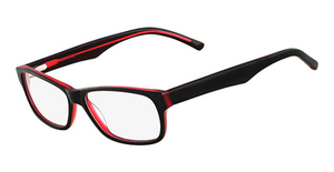 Marchon M-854 (600) Black/Red