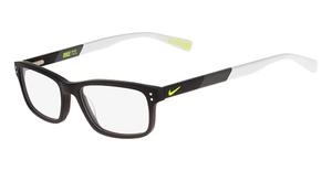 Nike NIKE 7237 (002) MATTE BLACK/DARK GREY