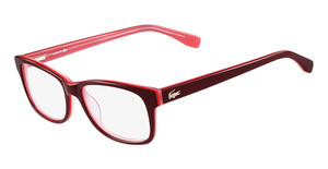 Lacoste L2724 (603) RED/CORAL/ROSE