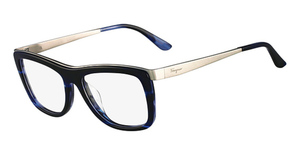 Salvatore Ferragamo SF2626 (410) Striped Blue