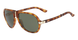 Salvatore Ferragamo SF662SP (218) Light Havana