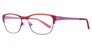 Aspex TK1002 Satin Red & Mauve