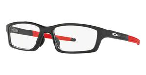 Oakley Crosslink Pitch (A) OX8041 Polished Black Ink/Red