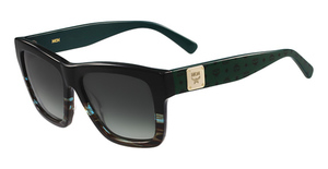 MCM MCM607S (967) BLACK-STRIPED AQUA